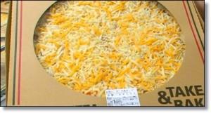 5色チーズミックスピザ
