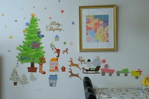 ウォールクリスマスツリー