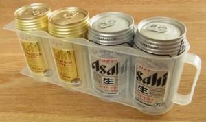 縦置きできる缶ストッカー