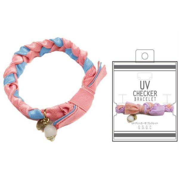 UVチェッカー 三つ編みブレス