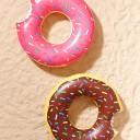 ドーナツの浮き輪