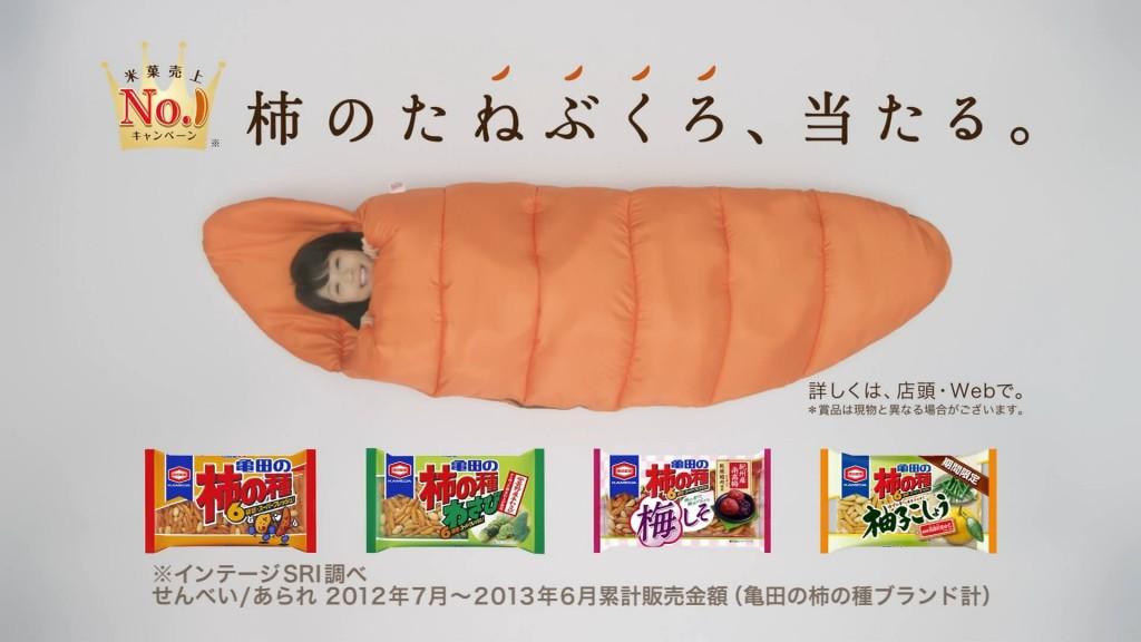 柿の種寝袋