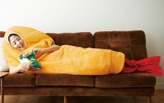 着るエビフライ寝袋